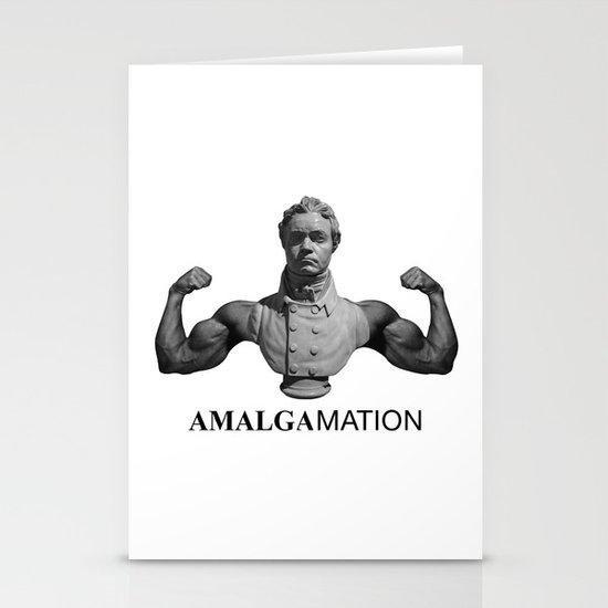 Amalgamation #1 Stationery Cards