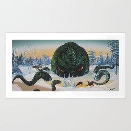 Cthulhu Rising Art Print