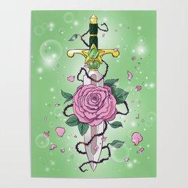 Sailor Jupiter Wand Dagger | Jupiter Power Make Up Poster