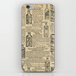 Vintage Catalogue iPhone Skin