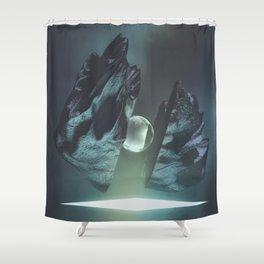 mcCrack Shower Curtain