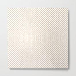 Dawn Polka Dots Metal Print