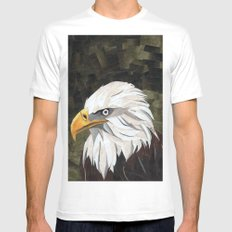 Eagle! White Mens Fitted Tee MEDIUM