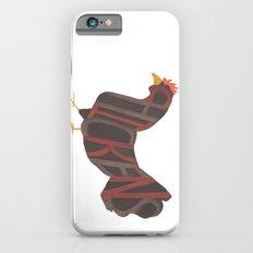 Chickens Typography Slim Case iPhone 6s