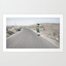 horizontal #5 Art Print