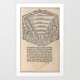 Overview of Hell Art Print
