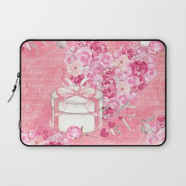 Roses Heart Pattern 03 Laptop Sleeve