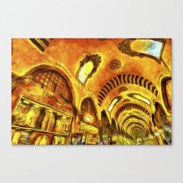 Spice Bazaar Van gogh Canvas Print