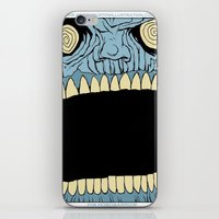 mouth iPhone & iPod Skins featuring Mouth by Hobo&Arrow
