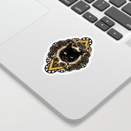 Gato de Gueto Sticker