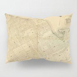 Map Of Key West 1906 Pillow Sham