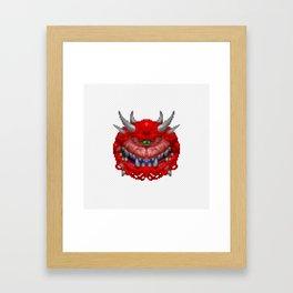 Cacodemon Framed Art Print