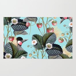 Strawberry Brush Hide-Out #society6 #decor #buyart Rug