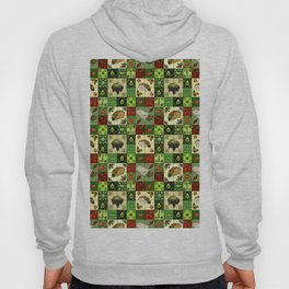 Mexican Restaurant Tiles Hoody