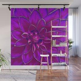 Lotus Bloom Wall Mural