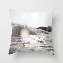 Autumn Wave Throw Pillow