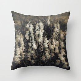 Snapdragons Grungy Garden Throw Pillow