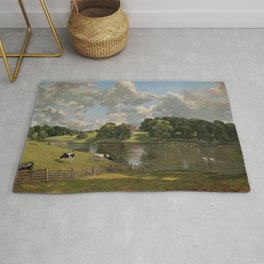 John Constable Wivenhoe Park, Essex 1816 Painting Rug