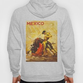 Vintage Mexico Bullfighting Travel Hoody