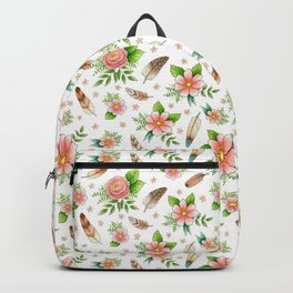 Feathers and Flowers Backpack