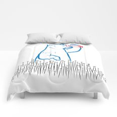 DA BEARS - SEARCHING Comforters