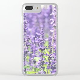 Lavender Clear iPhone Case