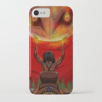 majora iPhone & iPod Cases featuring attack on majora! by fangterry