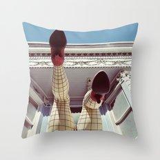 Pin up girl Throw Pillow