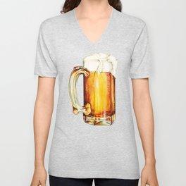 Beer Pattern Unisex V-Neck