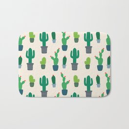 Desert Cactus Love Pattern Bath Mat