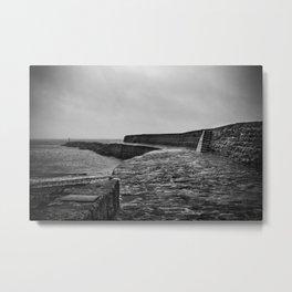 Lyme Regis Pier Metal Print