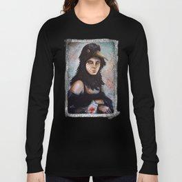 Raven girl Long Sleeve T-shirt