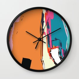 Your Reach is Long Wall Clock