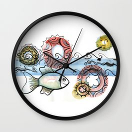 Life on the Earth - The Ocean Wall Clock