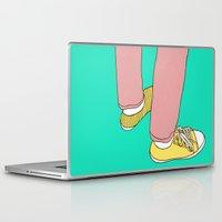 boyfriend Laptop & iPad Skins featuring Boyfriend jeans by Rinomonsta