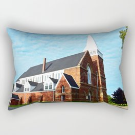 St. Paul's Church Sturgeon PEI Rectangular Pillow