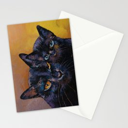 Bombay Cat with Kitten Stationery Cards