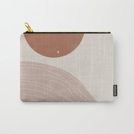 Wilde West, Abstract Landscape Carry-All Pouch