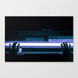 glow me. Canvas Print