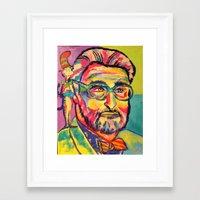 dr seuss Framed Art Prints featuring Dr. Seuss by Kelsey Gilman7