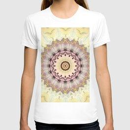 Summer Yellow and dusk Mandala T-shirt