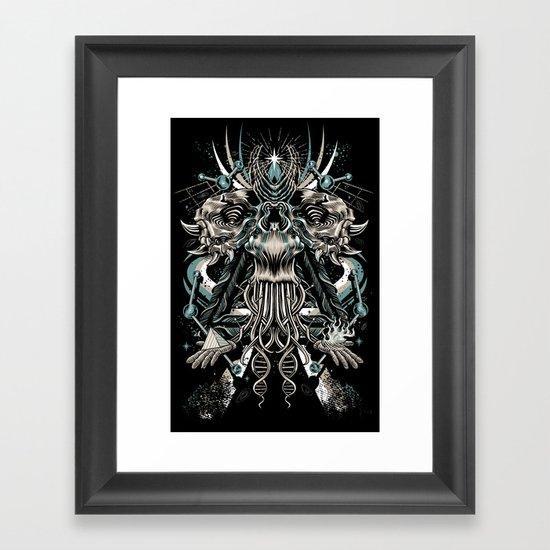 Cosmic Dust Framed Art Print