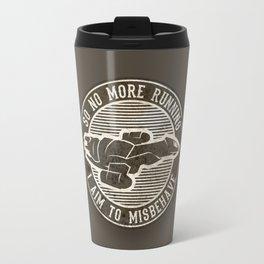 Misbehave Badge V2 Travel Mug