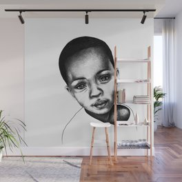 African Child Wall Mural