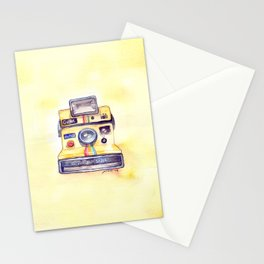Vintage gadget series: Polaroid OneStep camera Stationery Cards