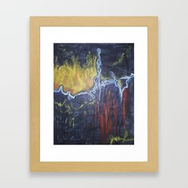 Impulsive: Playing with Fire Framed Art Print