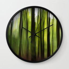 Woodland Insanity Wall Clock