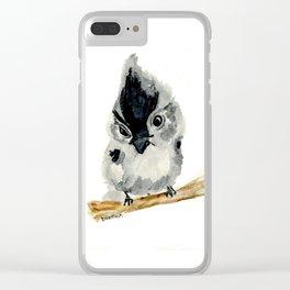 Judgy Little Bird Clear iPhone Case