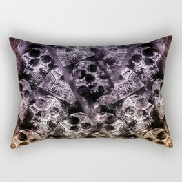 Pyramid of skulls Rectangular Pillow
