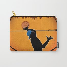 Basketball Player Silhouette Carry-All Pouch